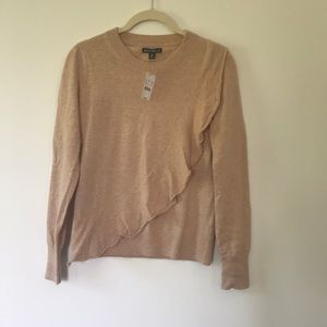 NWT Classic Jcrew sweater with a little flair!